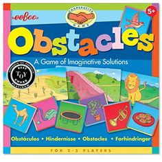 eeBoo Obstacles Imaginative Solutions Game ** To view further for this item, visit the image link.Note:It is affiliate link to Amazon.