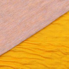 Italian Sunflower Yellow Double-Faced Contemporary Jersey - Rayon Jersey - Jersey/Knits - Fashion Fabrics
