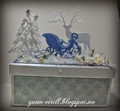 Gunn-Eirill's kreative sider: Vinterlig gaveboks