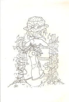 Mais desenhos da Sarah kay para colorir | Desenhos para Colorir