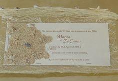 Convite Casamento - Tema Mar