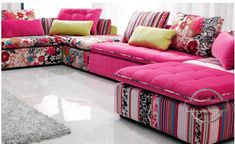 U-BEST Colorful  Fabric sectional sofa set,fashion living room section sofa, modern sofa