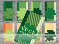 Luck O' The Irish Hang Gift Tag St.Patrick's Day by ArigigiPixel