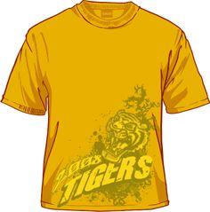 fierce Tiger Artwork, Mens Tops, T Shirt, Fashion, Supreme T Shirt, Moda, Tee, La Mode, Fasion