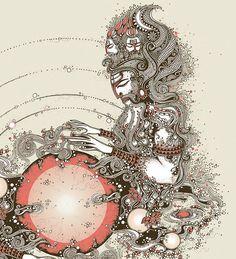 """""""Hindu Mythology is one of the richest elements of Indian Culture. Shiva Art, Shiva Shakti, Indian Gods, Indian Art, Oracular Spectacular, Krishna, Hindu Deities, Hinduism, Om Namah Shivay"""