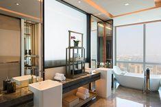 Downtown Shenzhen Hotel | Shenzhen Marriott Hotel Nanshan Toilet And Bathroom Design, Bathroom Vanity Designs, Restroom Design, Toilet Design, Bathroom Design Luxury, Bathroom Spa, Bathroom Toilets, Washroom, Shenzhen
