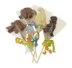 Chocolate Dinosaur Pops