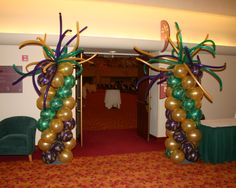 Balloon Columns Door Entrance Monona Terrace
