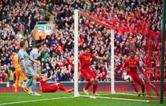 Anfield. Liverpool league runners up 11.05.2014