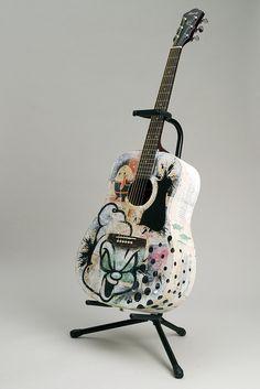 Sket One Custom Guitar by sket_one, via Flickr