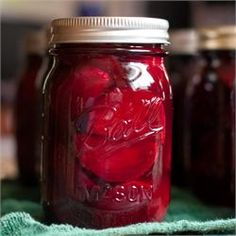 Pickled Beets - Allrecipes.com  Everyone looks forward to these beauties for Christmas gifts. Make a lot as they will go fast!