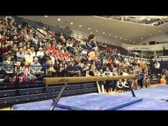 PSU WGYM ties season high score in loss at home to #8 Nebraska - YouTube