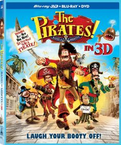 The Pirates! Band of Misfits Three-Disc Combo: Blu-ray 3D / Blu-ray / DVD