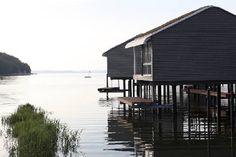 Pfahlhaussuiten am Greifswalder Bodden Insel Rügen