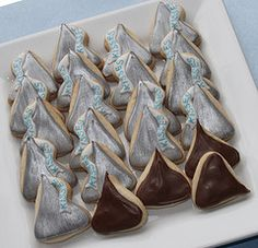 Candy Kiss Cookies