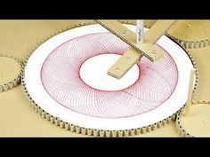 How To Make Drawing Machine From Cardboard - YouTube
