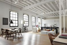 Love this space!    New York Loft-02-1 Kind Design