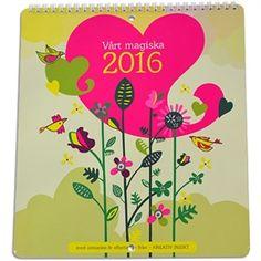 Väggkalendern Vårt magiska 2016 från Kreativ Insikt