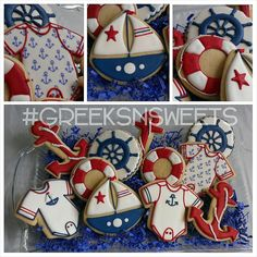 Nautical Baby Shower   Cookie Connection