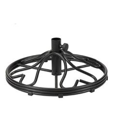 Umbrella Base Cast Iron Traditional Outdoor Portable Weather resistant Rust free #GardenOasis #Traditional
