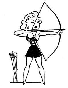 Retro Clip Art - Summer Sports - Camp - The Graphics Fairy Graphics Fairy, Free Graphics, Vintage Embroidery, Embroidery Patterns, Learn Embroidery, Retro Images, Vintage Images, Propaganda Art, Lazy Daisy Stitch