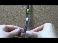 Beading Projects - Square Knot bracelet