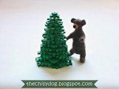 Kid's Christmas craft tutorial: How to make a 3-D Perler bead Christmas tree