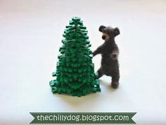 Kid's Christmas craft tutorial: How to make a 3-D Perler bead Christmas tree