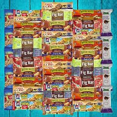 Ultimate Healthy Bar & Snacks Variety Pack Bulk Sampler (50 Count) ** You can find out more details at the link of the image. (This is an affiliate link) #healthysnackinbulk