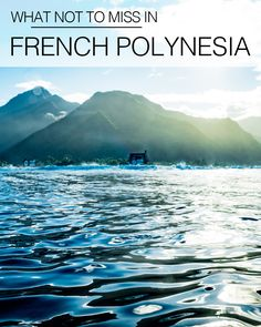 French Polynesia is so picturesque that by simply basking in the sparking glory of endless ocean peppered with nearby islands it would be easy to return home feeling like you had a ripper of a holiday. But here are a few things you shouldn't miss out on.  http://www.thesandyfeet.com/not-miss-french-polynesia/