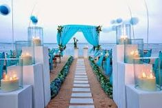 Decoración eventos - bodas en la playa