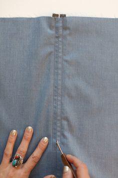 Sew a Centered Zipper