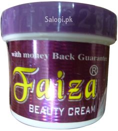 To remove pimples freckles and blackness of the face. Faiza Beauty Cream is used for spotless, beautiful and white color Face. Within few days of usage, you will feel the difference.