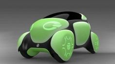 Rubber and plastics supplier Toyoda Gosei shows off the Flesby II concept in Tokyo. It imagines a compact vehicle from 2030 with a soft exterior. Futuristic Cars, Transportation Design, Pedestrian, Concept Cars, Cars And Motorcycles, Super Cars, Toyota, Automobile, Exterior