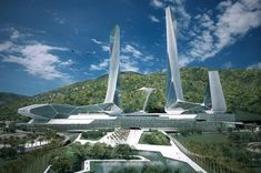 Penang Global City Center (PGCC), Penang, 2007 - Asymptote Architecture, Hani Rashid, Lise Anne Couture