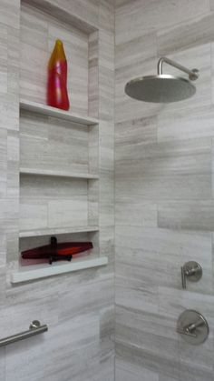 Shower and niche after remodel
