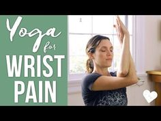 Yoga For Wrist Pain - YouTube