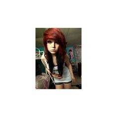 Scene Hair ❤ liked on Polyvore featuring hair, people, girls, pictures and models