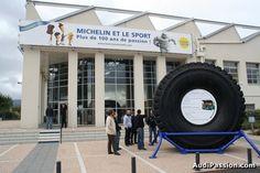 L'aventure Michelin, vue de l'entrée © audipassion.com, DR.