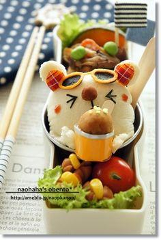 let's eat ice cream bento
