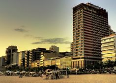 Hotel Caesar Park Ipanema .: Rio de Janeiro, Brazil • Grab a bite to eat at the hotel's beachfront restaurant, where you can dine alfresco (weather permitting). Relax with your favorite drink at a bar/lounge or a poolside bar.