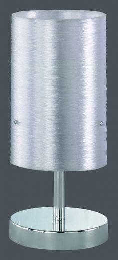 5939 - TRIO - dotyková stolová lampa - priehľadná+biela