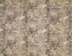 ca. 1800 William Kilburn block-print design on cotton in the Victoria & Albert museum costume collection.
