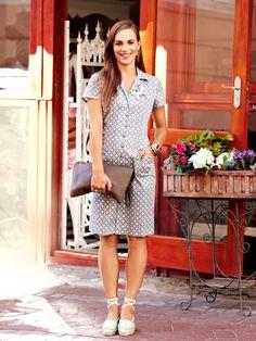 Blusenkleider –Schnittmuster Inspirationen zum Selbernähen von burda style