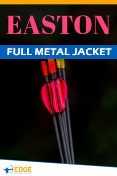 EASTON FULL METAL JACKET! Wooden hunting arrows, hunting arrow heads, best hunting arrows, how to make hunting arrows, hunting arrow tips, hunting arrow design, Arrow Hunting, archery hunting, archery hunting gear, archery hunting tips, arrows hunting guide, archery hunting tips, Archery target stand, archery range, archery hunting, archery quotes, archery equipment, archery women, archery backstop, archery photography, horse archery, archery arrows hunting. #arrowshunting Bow Hunting Women, Bow Hunting Tips, Hunting Arrows, Deer Hunting Blinds, Archery Arrows, Hunting Guide, Archery Targets, Archery Gear, Archery Equipment