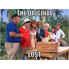 The Original LOST!   Gilligan's Island