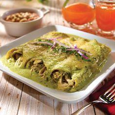 Enchiladas de Espinacas | Recetas de Nestlé | ElMejorNido.com