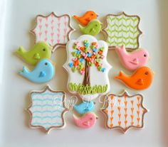 Lizy B: Birthday Birdies and Owl Cookies!