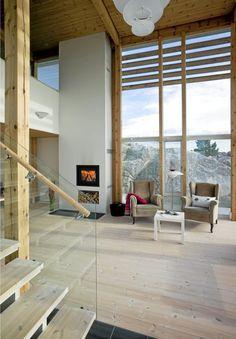 vinduer og flot arkitektur