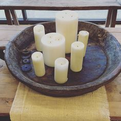 It's been a big day in the showroom , looking forward to lighting a few candles at home and relaxing .